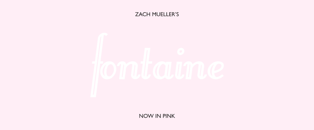 Zach Mueller's Pink Fontaine Cards